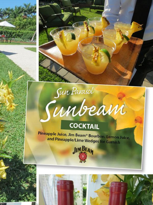 Sun Parasol Cocktail